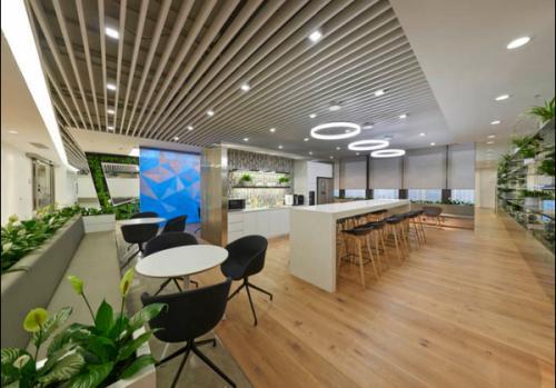 環保和人性化的辦公室裝修設計風格
